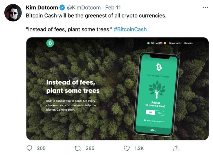 Tweet by KimDotcom on 11 February